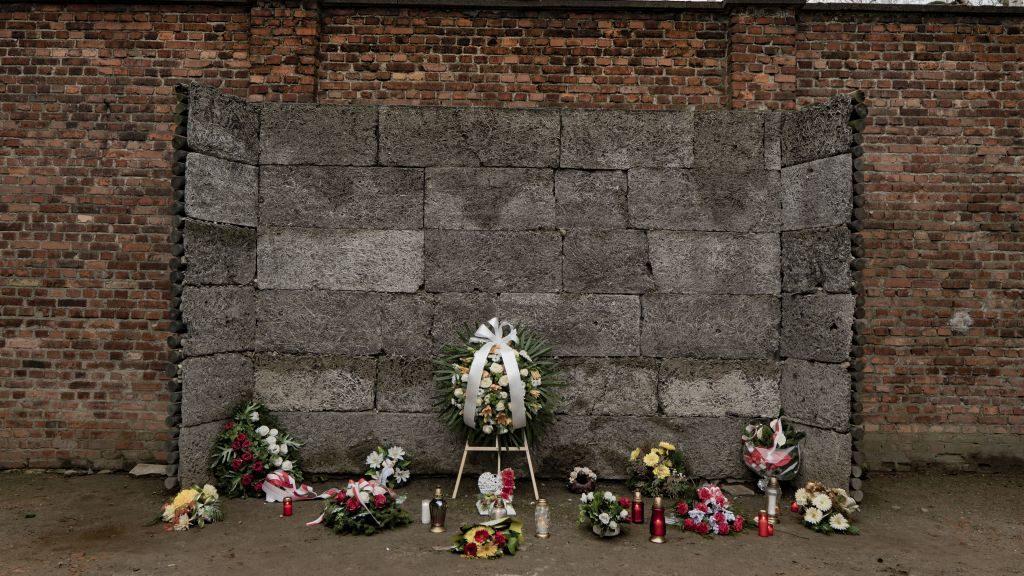 Auschwitz tour - death wall